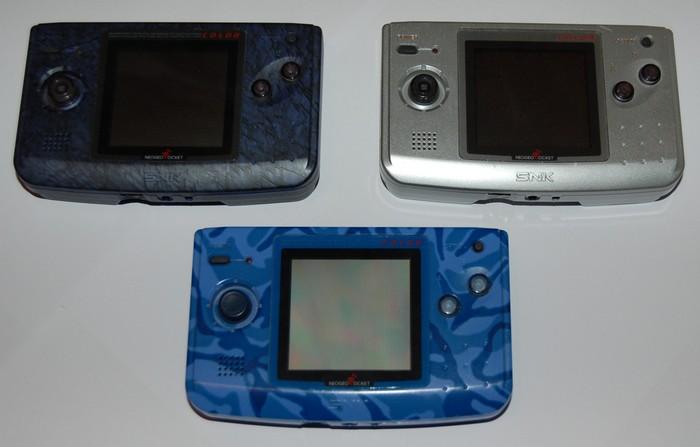 neo geo consoles