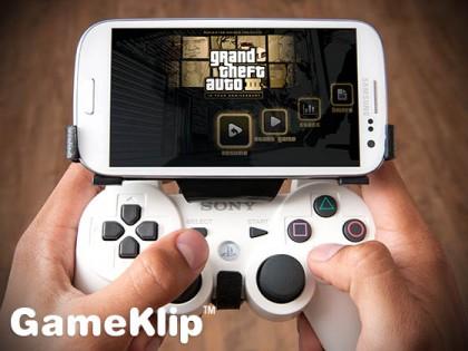 GameKlip transforme votre smartphone en console de jeux portable