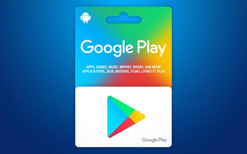 google play comment utiliser une carte cadeau