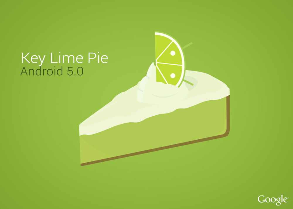 Android 5.0 Key Lime Pie : un concept prometteur