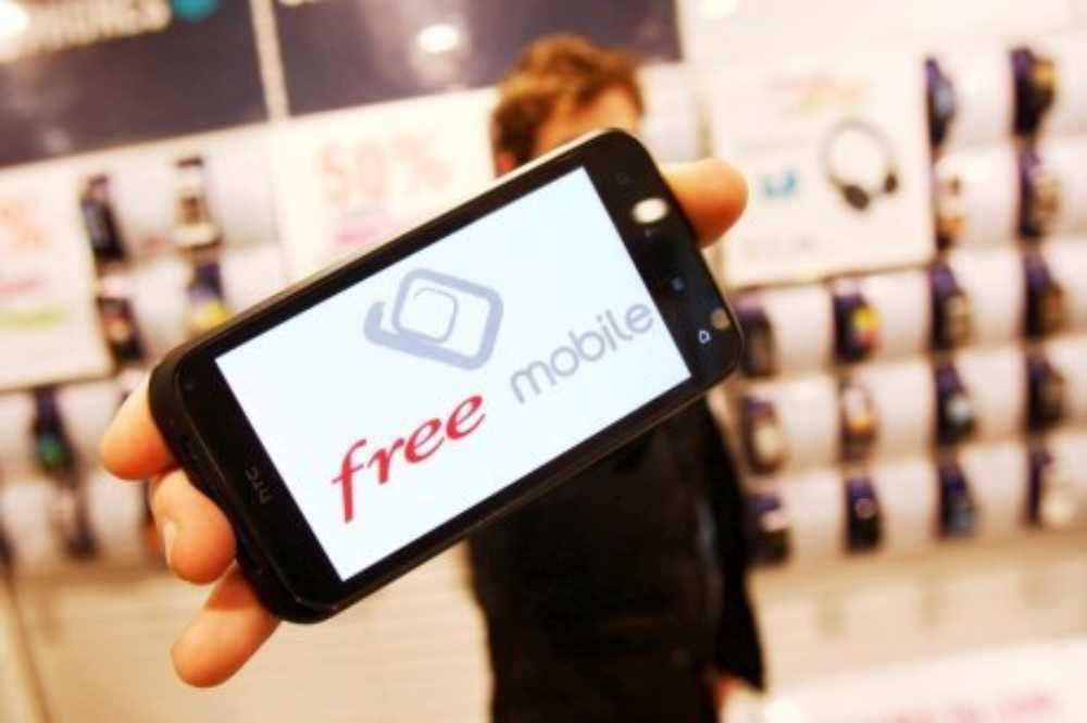 Free Mobile réseau