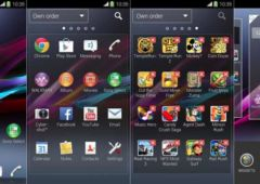 installez le launcher des sony xperia z1 et z ultra sur votre smartphone