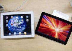 les ventes dipad stagnent celles des tablettes samsung explosent