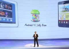 samsung galaxy note 10 1 la mise a jour 4 1 2 jelly bean commence
