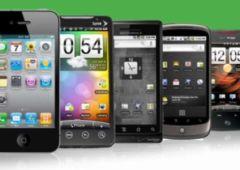 smartphones ecrans 5 pouces