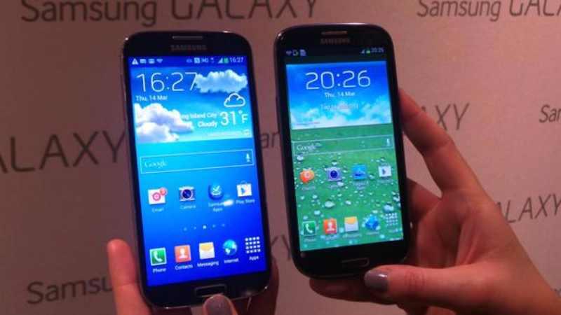 Comparatif vidéo : Galaxy S4 vs Galaxy S3