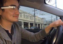 google glass les lunettes google interdites au volant
