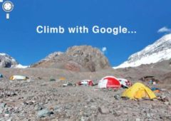 google maps sommet everest kilimandjaro