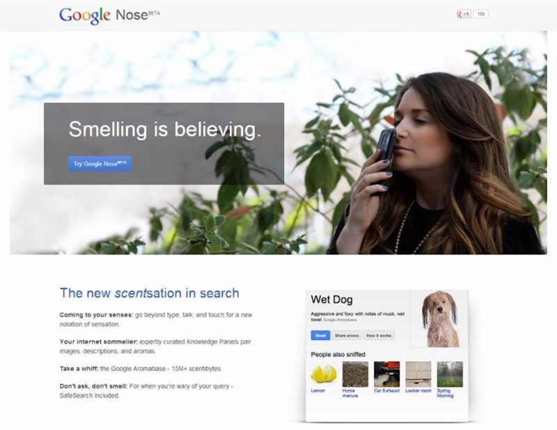 google fait ses poissons d 39 avril avec une s rie de blagues autour de gmail youtube maps. Black Bedroom Furniture Sets. Home Design Ideas