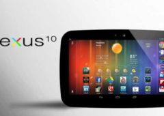 nexus 10 google pub video tablette
