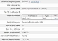 samsung galaxy tab 3 4g lte tablette devoilee bluetooth sig