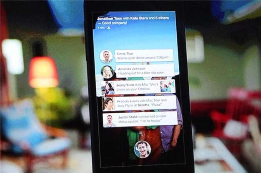Facebook Home: 500 000 téléchargements mais une mauvaise notation