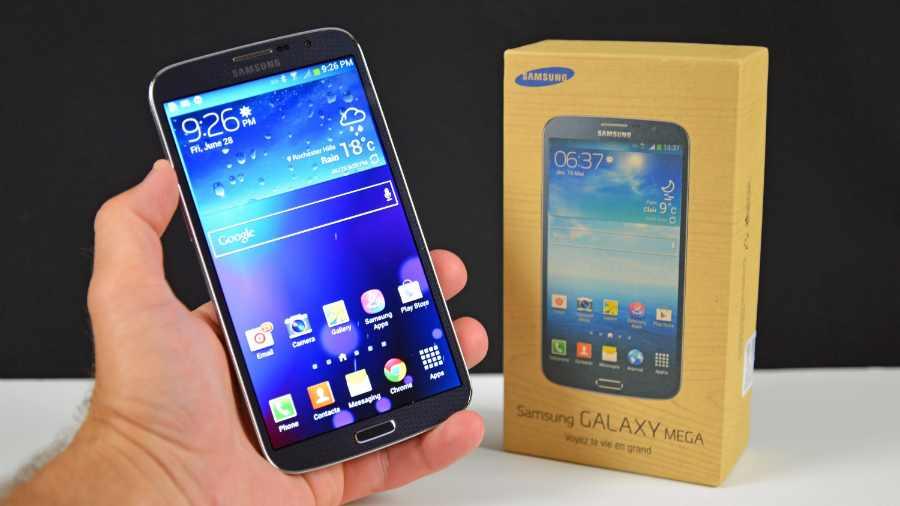 Galaxy Mega 6.3: incompatible avec les réseaux 4G français
