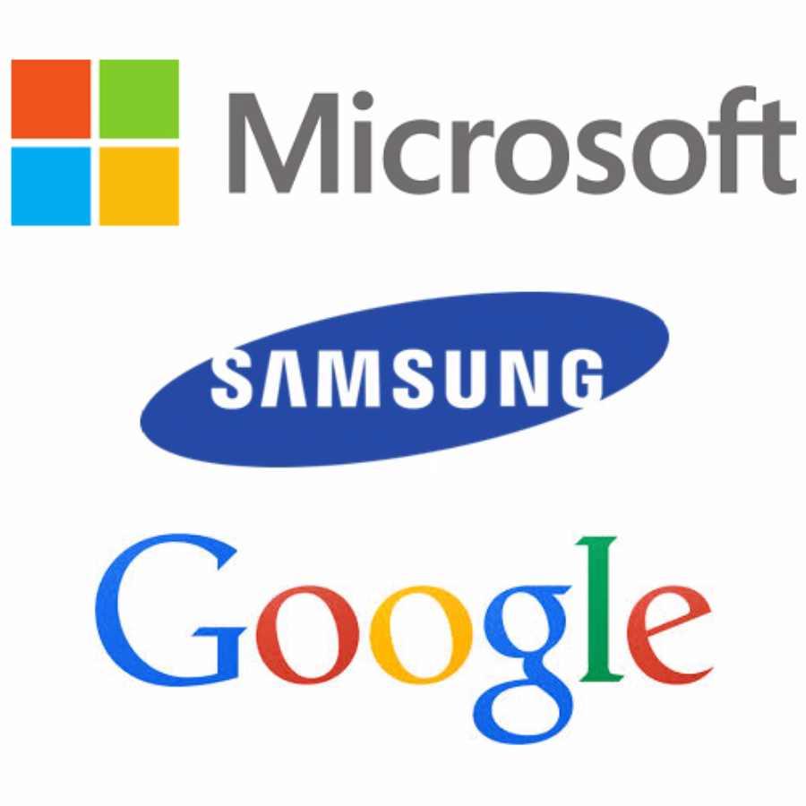 Google et Microsoft rendent visite à Samsung pour parler affaires