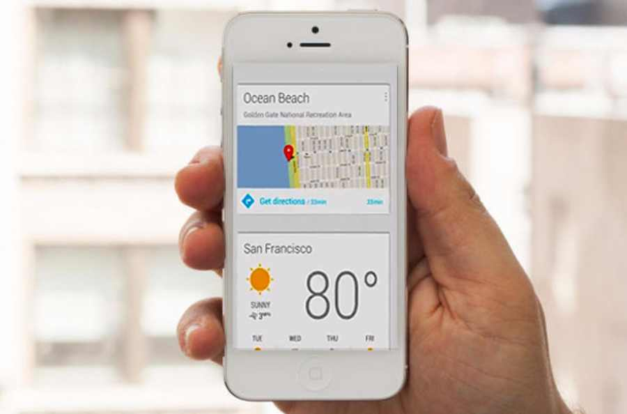 Google Now arrive enfin sur iPhone pour concurrencer Siri