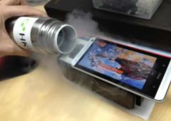 Le HTC One explose les benchmarks grâce à de l'azote liquide