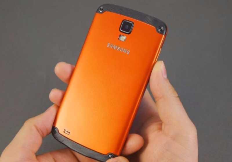 Galaxy S4 Active : la version étanche au design orange métallique ?