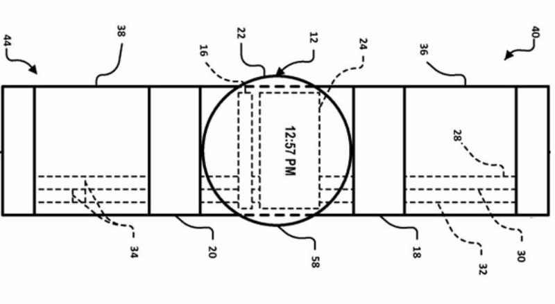La Google Smartwatch dévoilée par un brevet