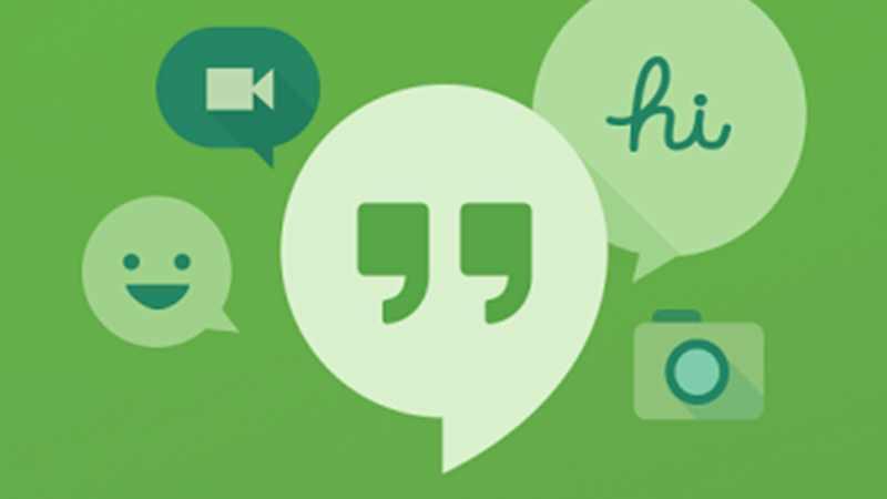 Google Hangouts est disponible au téléchargement.