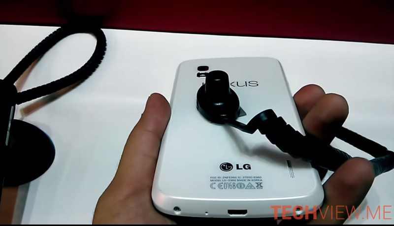 Le Nexus 4 blanc apparaît de nouveau en vidéo, sera-t-il présent à la Google I/O 2013 ?