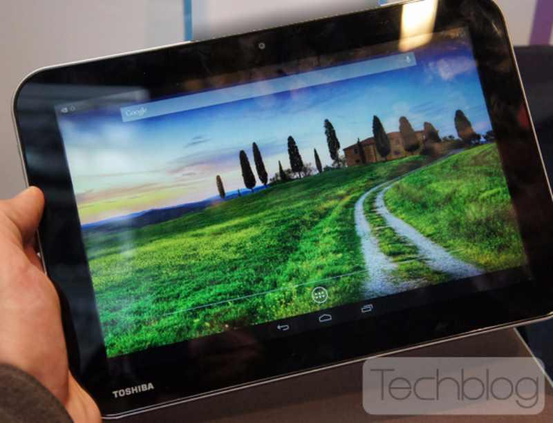 Premières photos de la tablette Tegra 4 Toshiba AT10LE-A