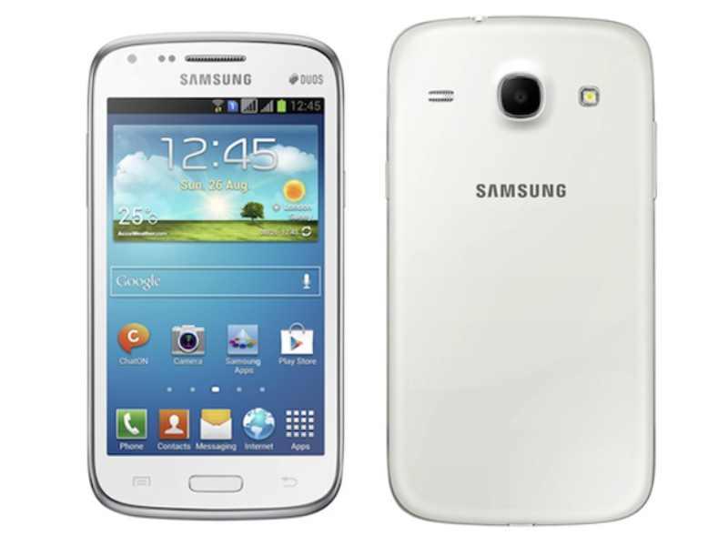 Samsung Galaxy Core, de l'entrée de gamme au format 4,3 pouces