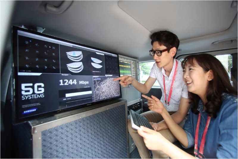 Samsung prépare son réseau 5G pour 2020