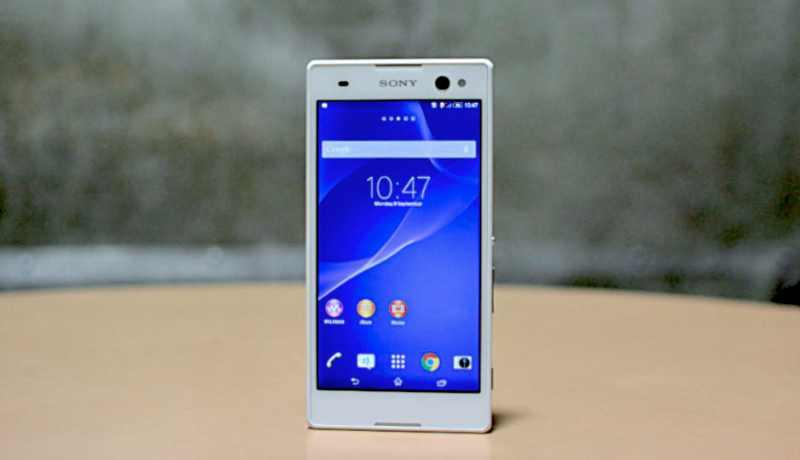 Sony C3 : premier smartphone Sony avec processeur MediaTek [Photos]