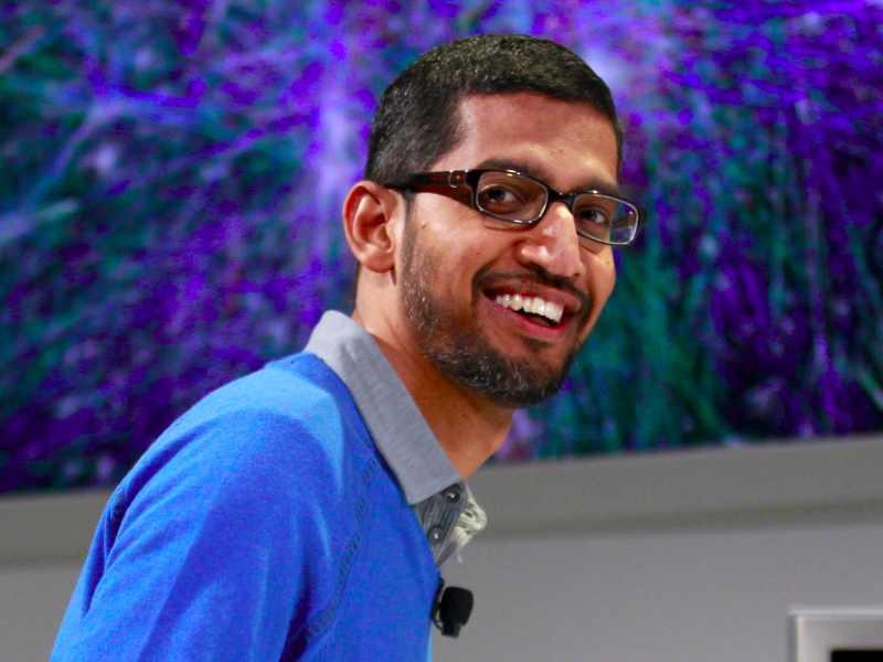 Sundar Pichai, le nouveau patron de Chrome et Android