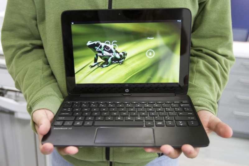 La tablette HP Slatebook X2 avec processeur Tegra 4.