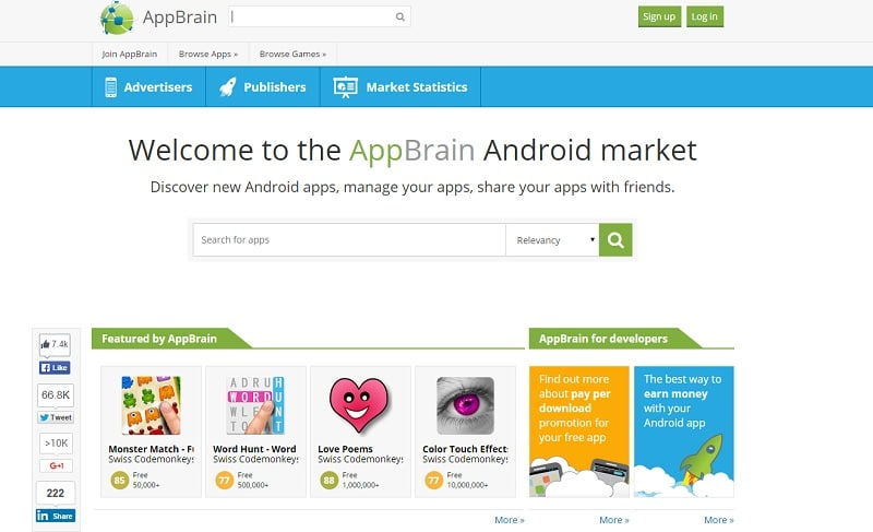 App Brain alternative Google Play