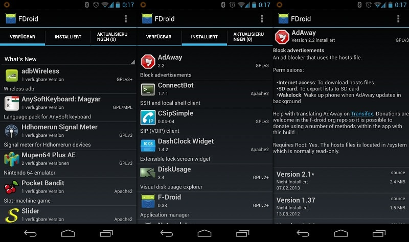 F Droid alternative Google Play