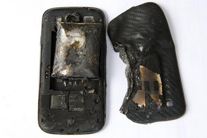Galaxy S3 brule