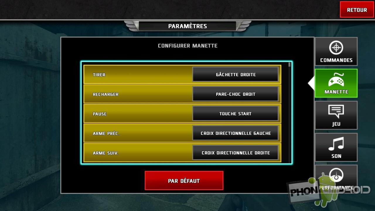 Sixaxis Controller avec Dead Trigger 2 compatible