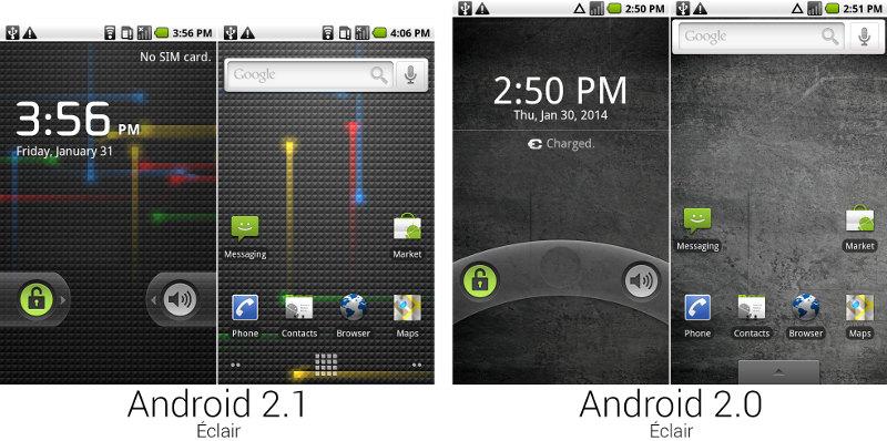 Android 2 éclair
