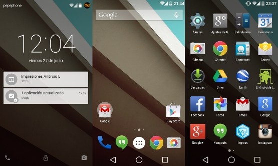 Android 5 Lollipop, les principales fonctions