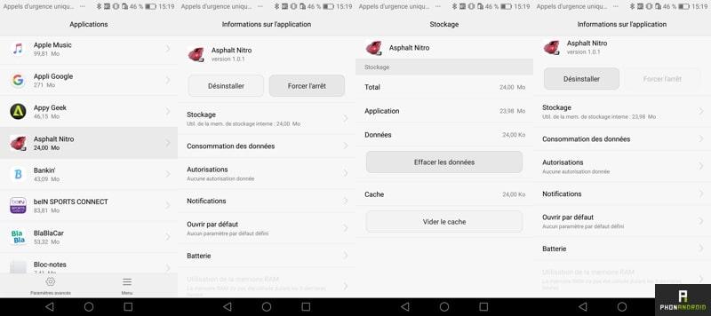 android apk desinstaller