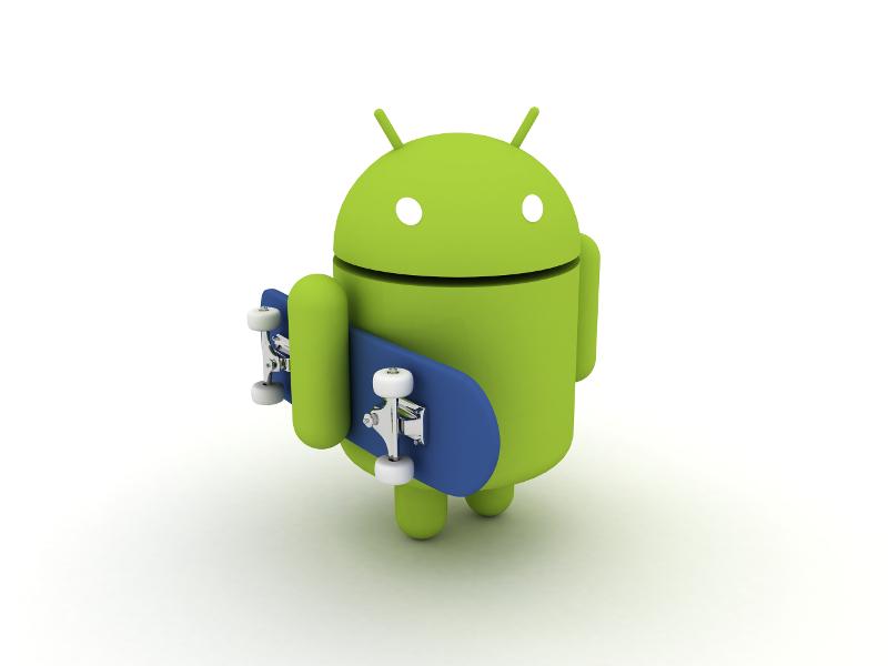Bugdroid et les smartphones
