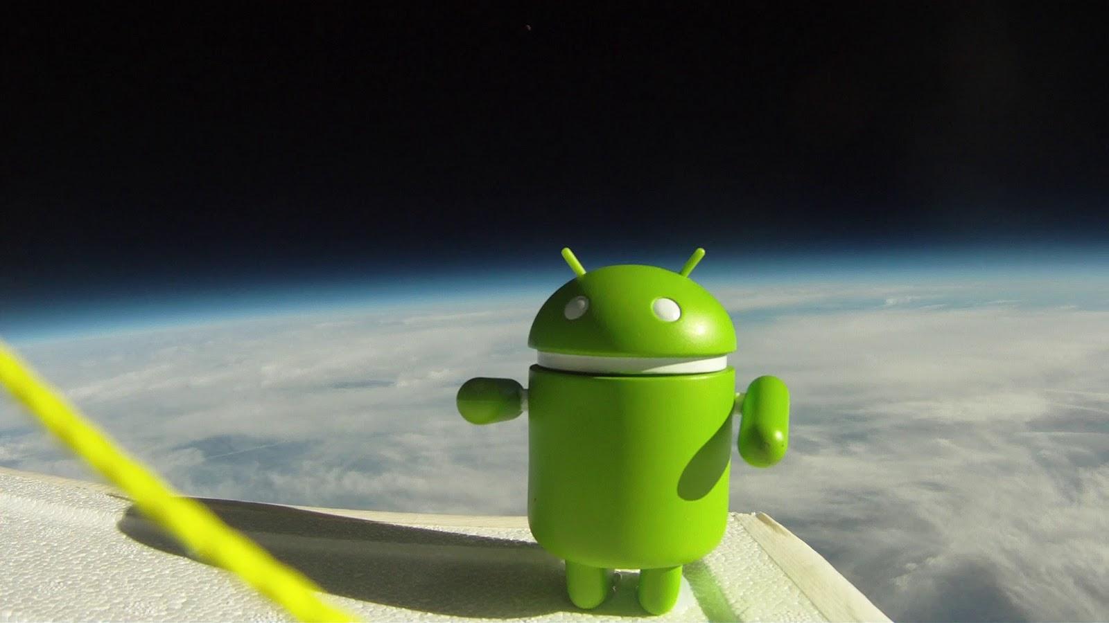 Bugdroid et les versions de Android