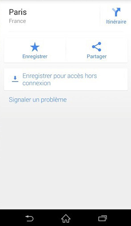 comment consulter google maps offline