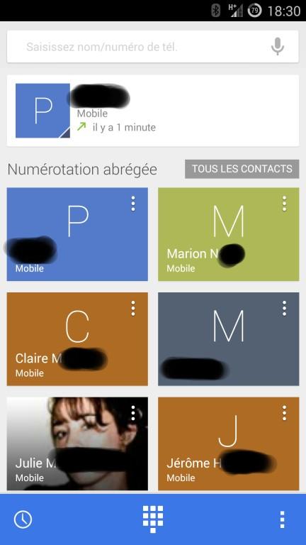 Guide de sauvegarde des données sur les contacts