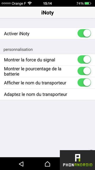 notifications iOS