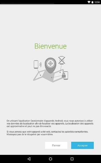 Android Device Manager install