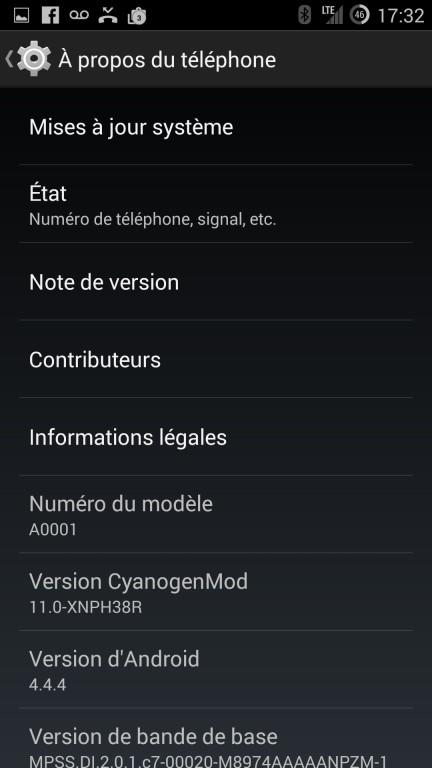 CyanogenMod installation consommation de data