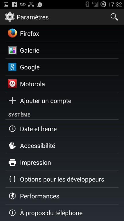 CyanogenMod installation paramètres