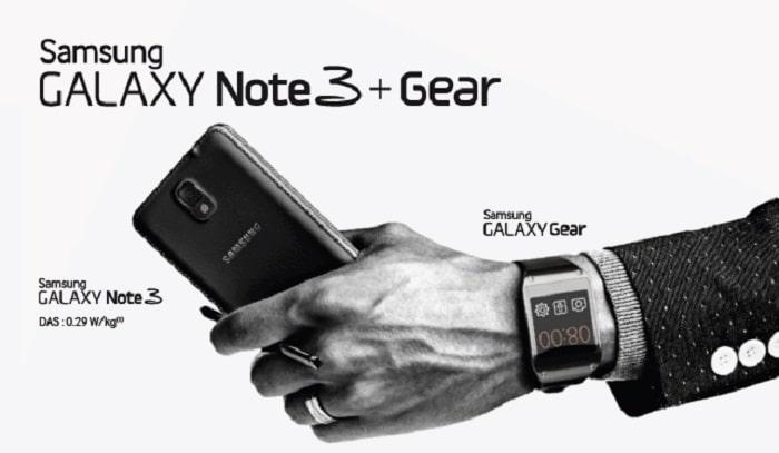 Galaxy Note 3 une Galaxy Gear offerte chez Samsung ou Orange