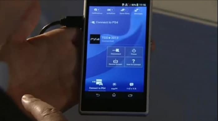 PlayStation 4 Sony nouvelle application Android