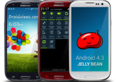 android 4.3 jelly bean samsung galaxy s3