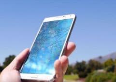 crash test du Galaxy Note 3