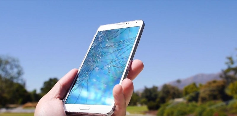 crash test du Galaxy Note 3
